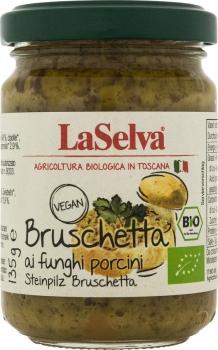 LASELVA BIO Bruschetta Steinpilze 135g