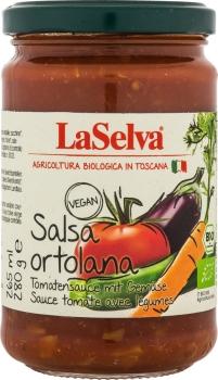 LASELVA BIO Salsa Ortolana - Tomatensauce mit Gemüse 280g