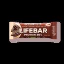 LIFEFOOD lifebar Protein Choco Green 47g