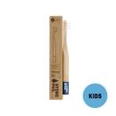 Hydrophil Bambus Kinder-Zahnbürste Blau extraweich