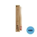 Hydrophil Bambus Kinder-Zahnbürste Rot extraweich