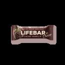 LIFEFOOD Lifebar InChoco Kakao-Vanille ROH BIO, 40g
