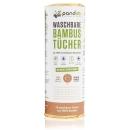 PANDOO Waschbare Bambustücher / Küchenrolle 20 Tücher
