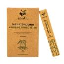PANDOO Bambus Kinder-Zahnbürsten