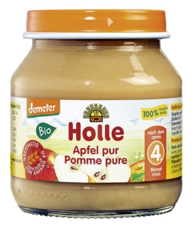 HOLLE Apfel pur, 125g