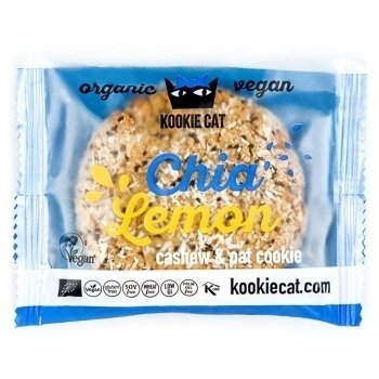 KOOKIE CAT Chia & Zitrone, 50g