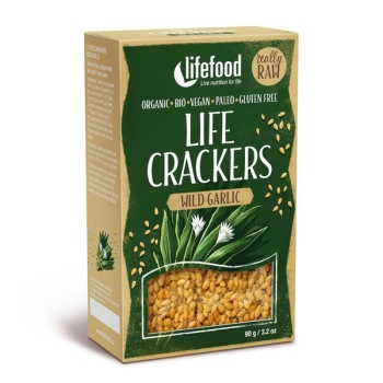 LIFEFOOD Life Cracker Bärlauch 90g