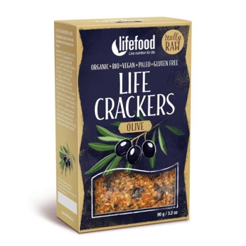 LIFEFOOD Life Cracker Olive 90g