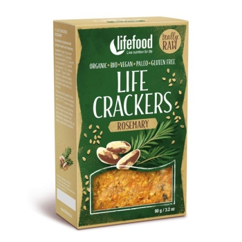 LIFEFOOD Life Cracker Rosmarin  90g