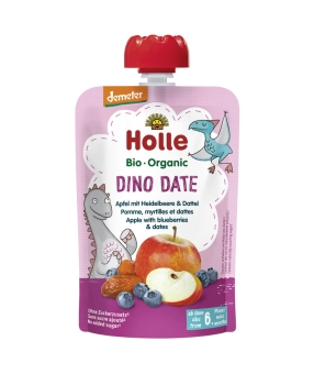 HOLLE Pouchy Dino Date, 90g