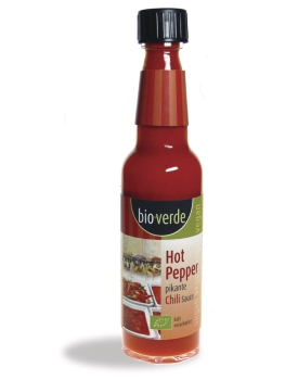 BIO-VERDE Hot Pepper Chilli Sauce 100g