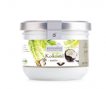 BIO PLANETE Kokosöl nativ, 200ml