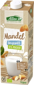 ALLOS Mandeldrink naturell 1L