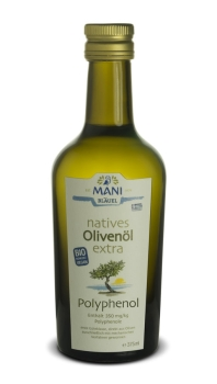 MANI natives Olivenöl extra Polyphenol bio 375ml