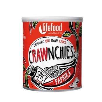 LIFEFOOD Crawnchies Spicy Paprika 30g