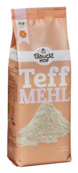 BAUCKHOF Teffmehl Vollkorn glutenfrei Bio, 400g