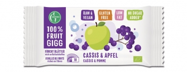 GREENIC Cassis&Apfel 100% FRUIT GIGG, 10g