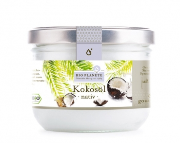 BIO PLANETE Kokosöl nativ, 400ml