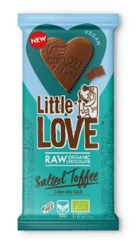 LOVECHOCK Tafel Little Love Salted Toffee, 65g