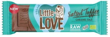 LOVECHOCK Riegel Little Love Salted Toffee, 25g