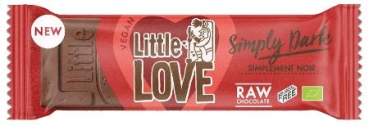 LOVECHOCK Riegel Little Love Simply Dark, 25g