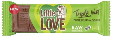 LOVECHOCK Riegel Little Love Triple Nut, 25g