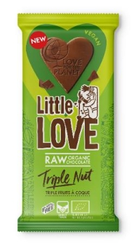LOVECHOCK Tafel Little Love Triple Nut, 65g
