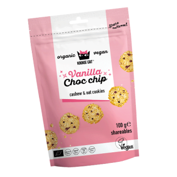 KOOKIE CAT Vanilla Choco Chip Keks, 100g