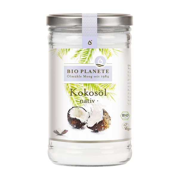 BIO PLANETE Kokosöl nativ, 950ml