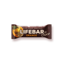 LIFEFOOD Lifebar InChoco Orange ROH BIO, 40g